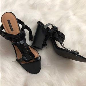 Super cute black block heels from forever 21 10